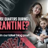 Family sitting on couch, covid-19 household, blog, clinical research