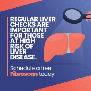 Regular liver checks are important for those at high risk of liver disease.